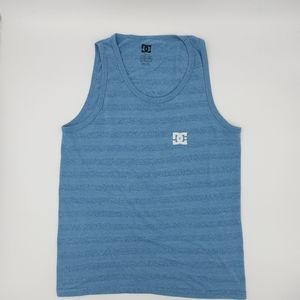DC striped tank top size Small